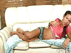 Her shemale ass is just waiting for your hard cock  - clip # 03