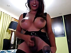 Massive Shemale Cumshot #2