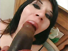 Black-Haired Tranny Solo